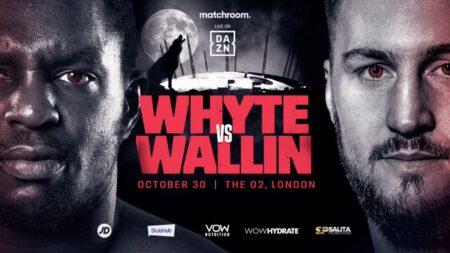 برخورد دیلیان وایت با اتو والین سوئدی در لندن در 30 اکتبر | Boxen247.com (کریستیان فون اسپونک)