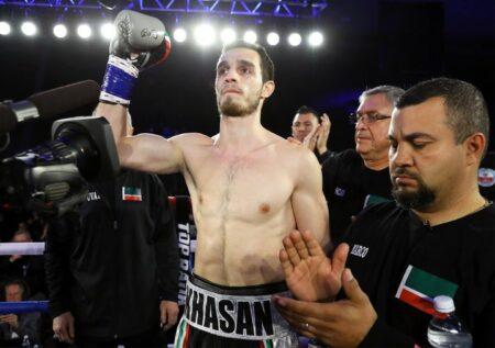 Khasan Baysanguroz 將於 25 月 247 日對陣 Christopher Ousley | BoxenXNUMX.com(克里斯蒂安·馮·斯波內克)