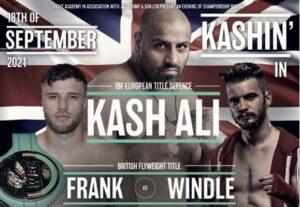 Matt Windle faces Tommy Frank for the British Flyweight Title Sept 18 | Boxen247.com (Kristian von Sponneck)
