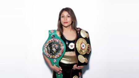 Erika Cruz signs with Matchroom Boxing | Boxen247.com (Kristian von Sponneck)