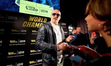 Oleksandr Usyk returned to the Ukraine as a hero   Boxen247.com (Kristian von Sponneck)