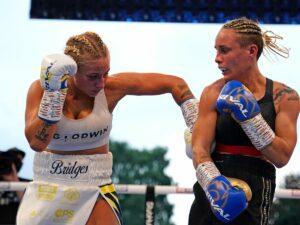 Ebanie Bridges defeats Mailys Gangloff in Leeds, England | Boxen247.com (Kristian von Sponneck)