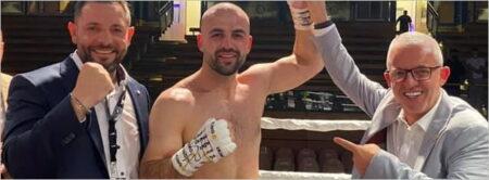 Shefat Isufi defeats Tomas Adamek in Luebeck, Germany | Boxen247.com (Kristian von Sponneck)