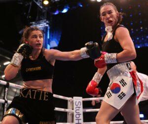 Katie Taylor defeats ex champ Jennifer Han in Leeds, England | Boxen247.com (Kristian von Sponneck)