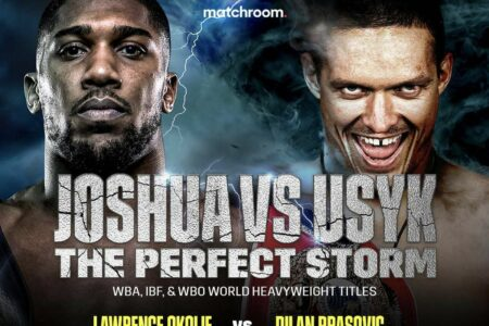 Anthony Joshua vs. Oleksandr Usyk - 10 days to go   Boxen247.com (Kristian von Sponneck)