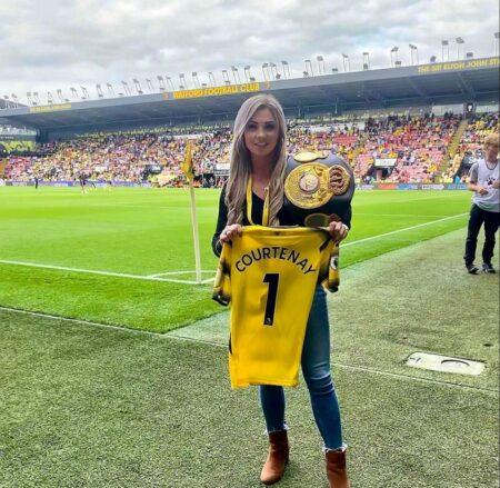Shannon Courtenay guest of honor at the 4th date of the Premier League | Boxen247.com (Kristian von Sponneck)