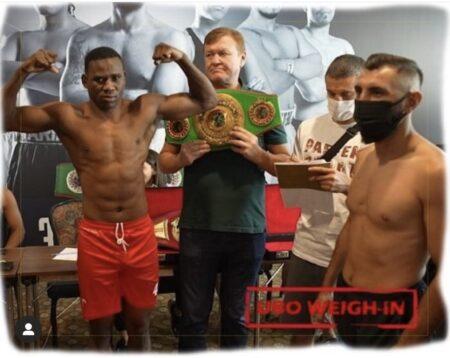 Arda Avci vs. Idd Pialari & UBO title fight weights from Istanbul, Turkey | Boxen247.com (Kristian von Sponneck)