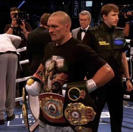 Oleksandr Usyk defeats Anthony Joshua & results from London, England | Boxen247.com (Kristian von Sponneck)