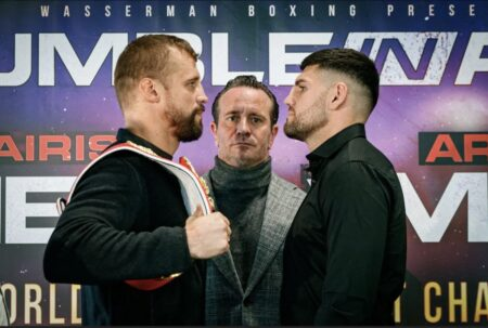 Mairis Briedis & Artur Mann come face-to-face for October 16 bout in Riga | Boxen247.com (Kristian von Sponneck)