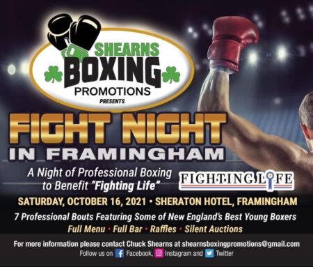 """Fight Night in Framingham"" finally happening on October 16 | Boxen247.com (Kristian von Sponneck)"