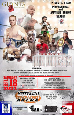 Matt Conway faces Rodolfo Puente in Pittsburgh, USA on Saturday | Boxen247.com (Kristian von Sponneck)