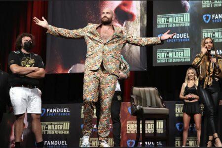 Tyson Fury vs. Deontay Wilder 3 final press conference quotes | Boxen247.com (Kristian von Sponneck)