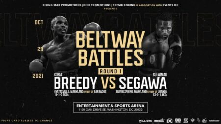 Ray Flores & Albert Bell added to Beltway Battles: Round 1 Live Oct. 29