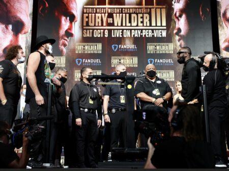 Fury, Wilder, Ajagba, Sanchez, Helenius, Kownacki etc all make weight | Boxen247.com (Kristian von Sponneck)