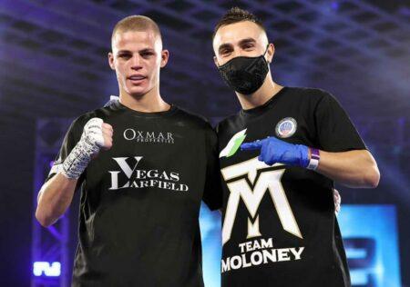 Vegas Larfield links up advisory deal with Tony Tolj and Dragon Fire Boxing | Boxen247.com (Kristian von Sponneck)