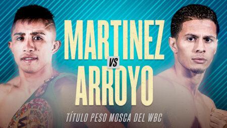 Julio César Martínez faces McWilliams Arroyo - rescheduled for Nov.19 | Boxen247.com (Kristian von Sponneck)