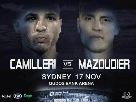 Joel Camilleri faces Koen Mazoudier in WBC Australasia title defence | Boxen247.com (Kristian von Sponneck)