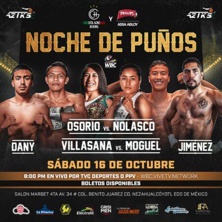"""NOCHE DE PUÑOS"" will air on WBC VIVE TV   Boxen247.com (Kristian von Sponneck)"