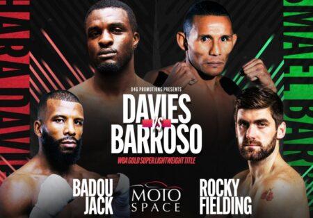 Barroso defends his Gold belt against Davies on November 26 in Dubai   Boxen247.com (Kristian von Sponneck)