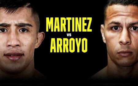 Julio César Martínez faces McWilliams Arroyo on November 19 | Boxen247.com (Kristian von Sponneck)