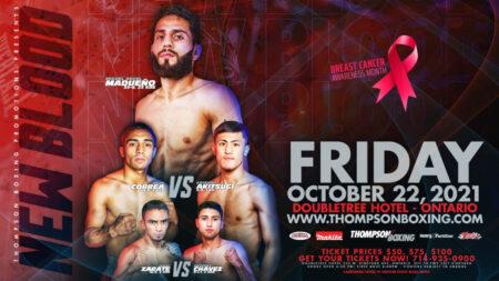 Miguel Madueño headlines Thompson Boxing's event on October 22   Boxen247.com (Kristian von Sponneck)