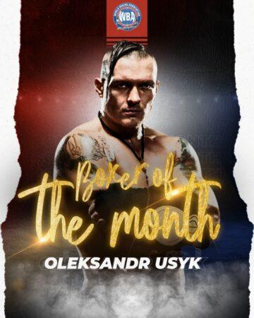 WBA Boxer of the month: Oleksandr Usyk   Boxen247.com (Kristian von Sponneck)
