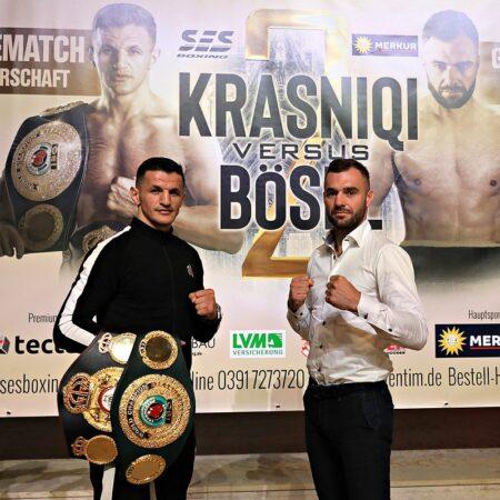 Robin Krasniqi vs. Dominic Bösel 2 final press conference - full info   Boxen247.com (Kristian von Sponneck)