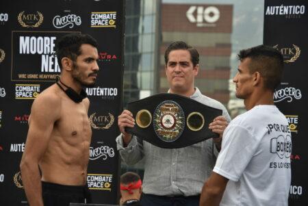 Miguel Vazquez vs. Oliver Flores full fight card weights from Mexico | Boxen247.com (Kristian von Sponneck)