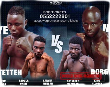 Robert Quaye vs. Nathanael Nukpe headlines UBO Title twin bill in Ghana | Boxen247.com (Kristian von Sponneck)