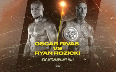 Oscar Rivas now faces Ryan Rozicki for the Bridgerweight World Title | Boxen247.com (Kristian von Sponneck)