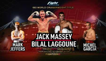 Jack Massey lands world title shot against Bilal Laggoune November 26 | Boxen247.com (Kristian von Sponneck)