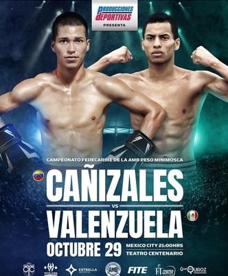 Carlos Cañizales faces German Valenzuela on EstrellaTV October 29   Boxen247.com (Kristian von Sponneck)