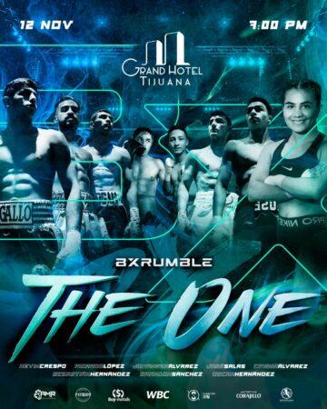 BX Rumble presents THE ONE on November 12 in Tijuana, Mexico | Boxen247.com (Kristian von Sponneck)