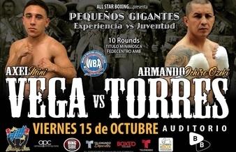 Axel Aragon Vega faces Armando Torres this Friday in Mexico City | Boxen247.com (Kristian von Sponneck)