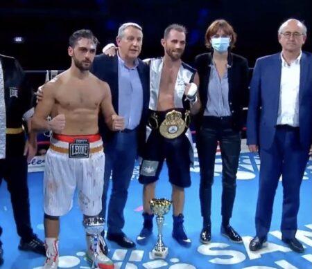 Guillaume Frenois defeats Giuseppe Carafa in Sainz-Quentin, France | Boxen247.com (Kristian von Sponneck)