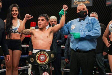 Axel Vega retained WBA-Fedecentro title against Armando Torres | Boxen247.com (Kristian von Sponneck)