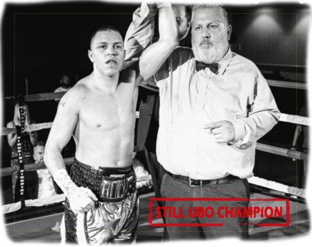 Noel Echevarria retained UBO World Title against Jerome Conquest | Boxen247.com (Kristian von Sponneck)