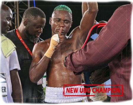 Holy Dorgbetor & Robert Quaye win UBO Titles in Accra, Ghana | Boxen247.com (Kristian von Sponneck)