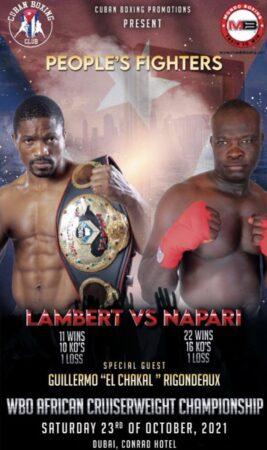 Rolly Lambert Fogoum faces John Napari this Saturday in Dubai - preview | Boxen247.com (Kristian von Sponneck)