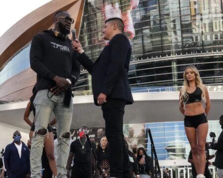 Tyson Fury vs Deontay Wilder 3 Las Vegas grand arrivals quotes & images | Boxen247.com (Kristian von Sponneck)