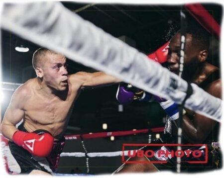 Noel Echevarria vs. Jerome Conquest UBO Title fight photos from Oct. 16 | Boxen247.com (Kristian von Sponneck)
