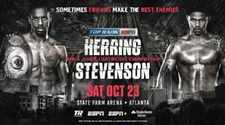 Jamel Herring vs. Shakur Stevenson on Oct.23 on ESPN+ & FITE | Boxen247.com (Kristian von Sponneck)