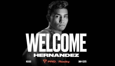 Probellum signs Eduardo Hernandez | Boxen247.com (Kristian von Sponneck)