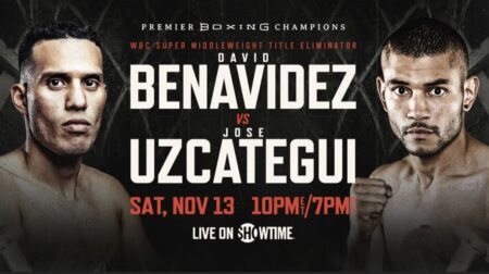 David Benavídez vs. José Uzcátegui Showtime press quotes for Nov.13th   Boxen247.com (Kristian von Sponneck)