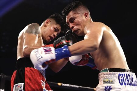 Emanuel Navarrete defeats Joet Gonzalez in a battle in San Diego, USA | Boxen247.com (Kristian von Sponneck)
