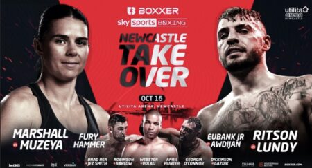 Eubank Jr joins Oct 16 line-up featuring Hughie Fury, Marshall and Ritson   Boxen247.com (Kristian von Sponneck)