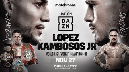 Teofimo & Kambosos set to fight at Madison Square Garden on Nov.27 | Boxen247.com (Kristian von Sponneck)