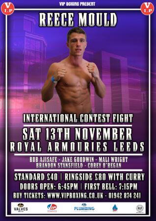 Reece Mould headlines & Bob Ajisafe returns on VIP Boxing Leeds show | Boxen247.com (Kristian von Sponneck)