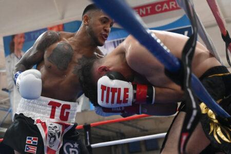 "Josniel ""TG"" Castro - undefeated junior middleweight prospect   Boxen247.com (Kristian von Sponneck)"