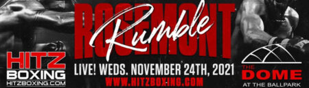 """Hitz Boxing continues with """"Rosemont Rumble"""" in Illinois on November 24 